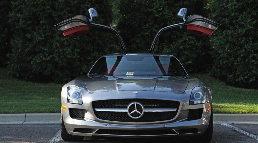 Main photo of BatteryTender Unnecessary's 2012 Mercedes-Benz SLS AMG
