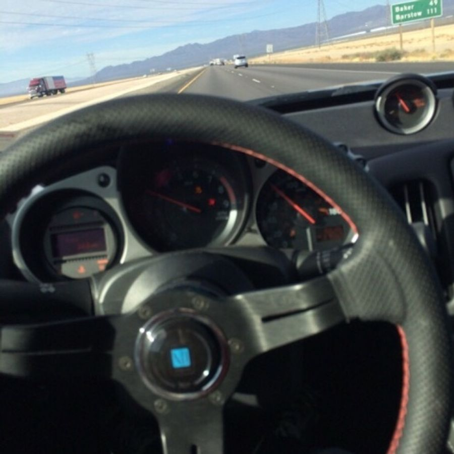 nardi steering wheel installed on teddy tirse s nissan 370z on wheelwell nardi steering wheel installed on