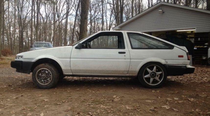 Main photo of Clayton Ashby's 1986 Toyota Corolla