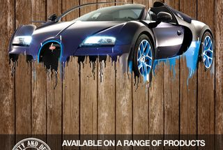 homepage tile photo for Awesome Bugatti Veyron Printed on Anything