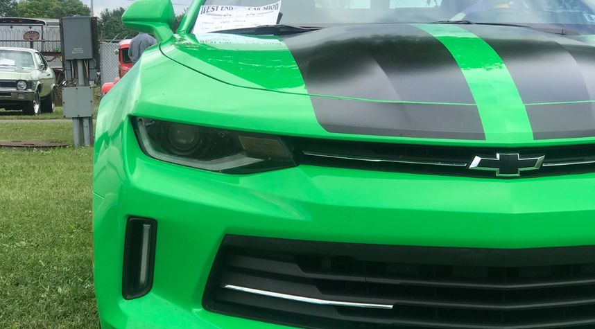 Main photo of Maggie Johnson's 2017 Chevrolet Camaro