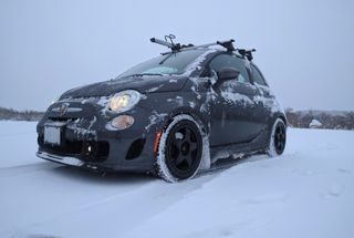 homepage tile photo for Went for a drive during the snow today. The new Blizzaks & adjusted...