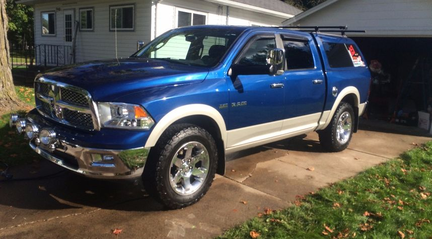 Main photo of Austin Strayer's 2010 Dodge Ram Pickup 1500