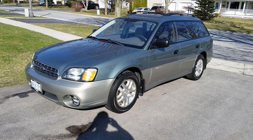 Main photo of Cole Joseph's 2002 Subaru Outback