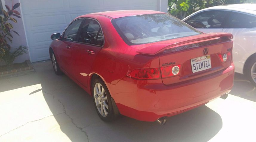Main photo of Drew Gordon's 2004 Acura TSX