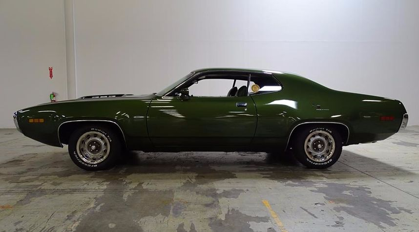 Main photo of Roland George's 1971 Plymouth Roadrunner