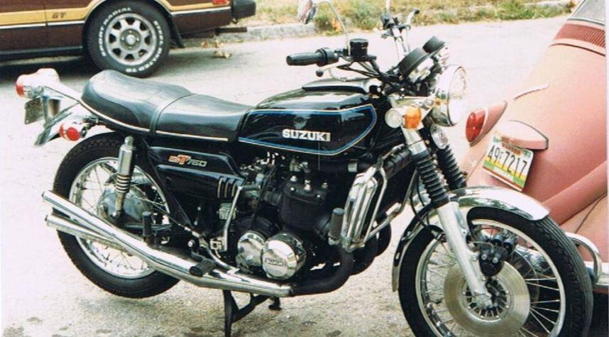 Main photo of Ed Stoner's 1975 Suzuki GT750