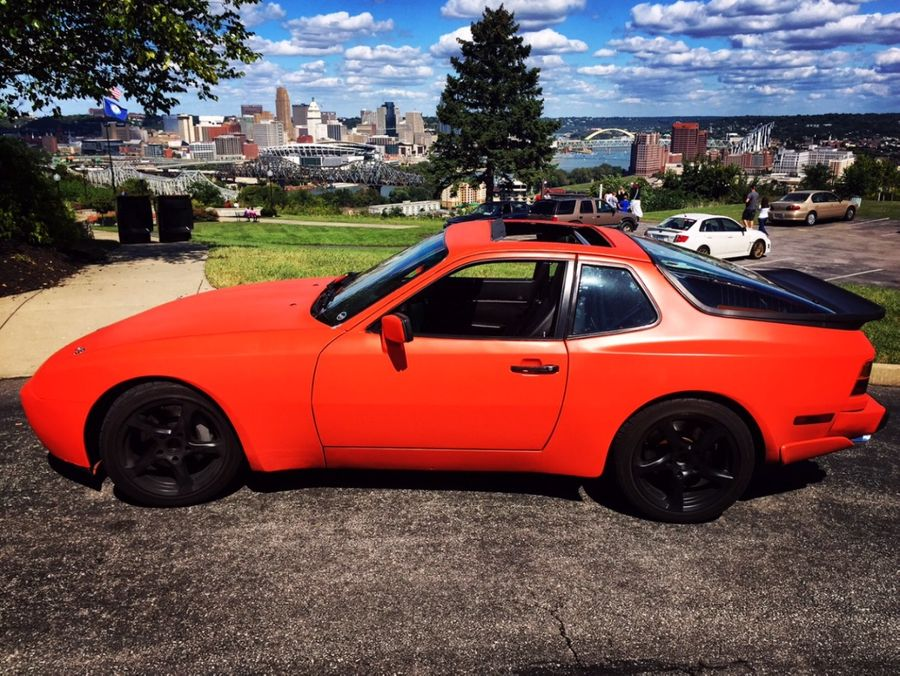 Jp Kinerk S 1985 Porsche 944 On Wheelwell