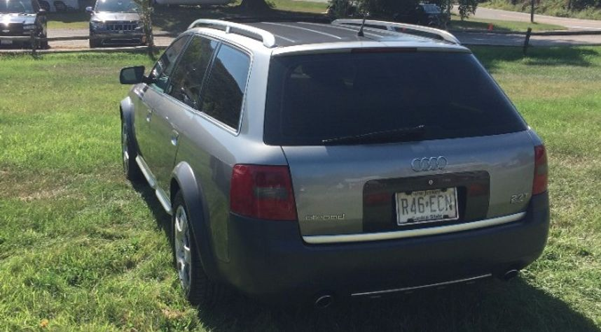 Main photo of Franklin Reynoso's 2001 Audi allroad quattro