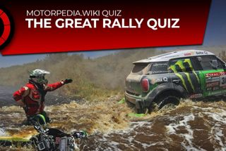 homepage tile photo for WEEKLY QUIZ :: The Down and Dirty World Rally Quiz!