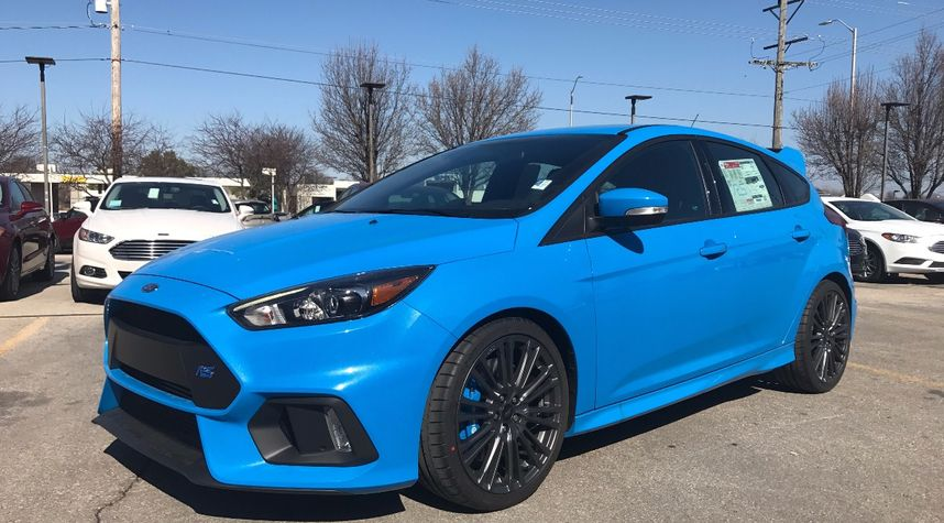 Main photo of Nathaniel Patrick's 2017 Ford Focus RS
