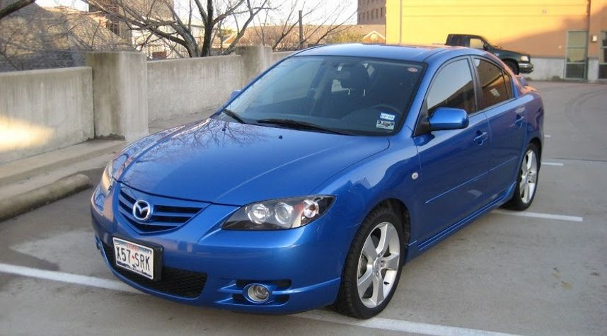 Main photo of Guy Mitchell's 2004 Mazda MAZDA3