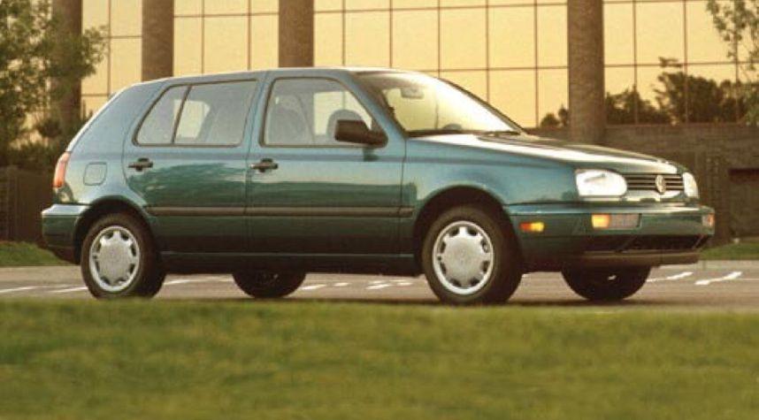 Main photo of Chris Swann's 1995 Volkswagen Golf