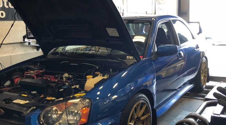 Main photo of Johnny Dep's 2004 Subaru WRX