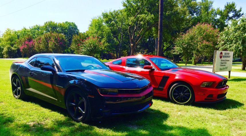 Main photo of Dustin Collett's 2015 Chevrolet Camaro