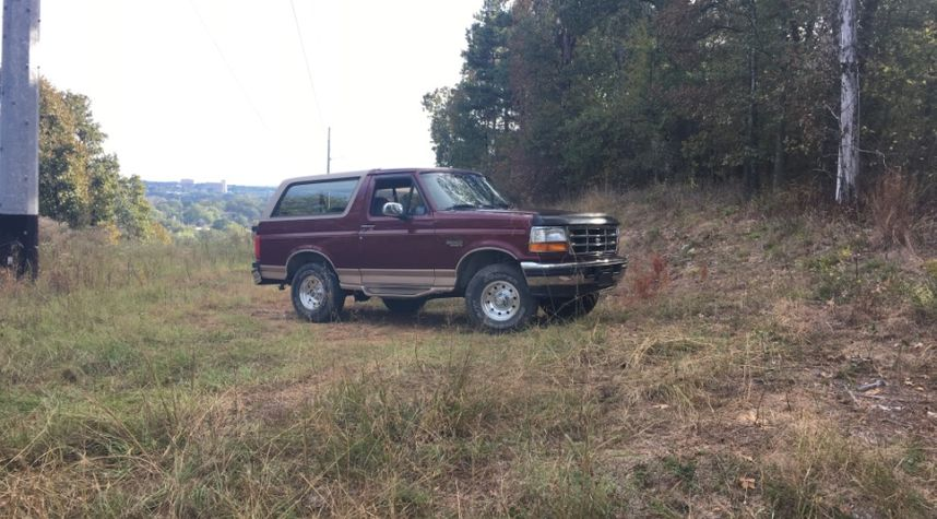 Main photo of Nathan Stewmon's 1996 Ford Bronco