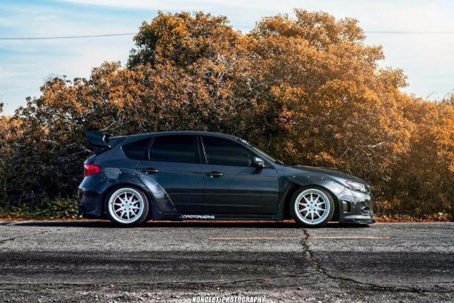 Mtnrider 2011 2014 Subaru Wrx Hatchback Wide Body Kit Widebody Kit Installed On Joshua Smith S Subaru Impreza On Wheelwell