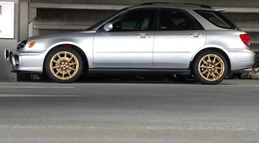 Main photo of David Montgomery's 2002 Subaru Impreza