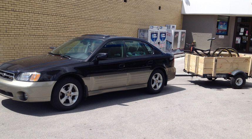 Main photo of Chris Volbrecht's 2002 Subaru Outback