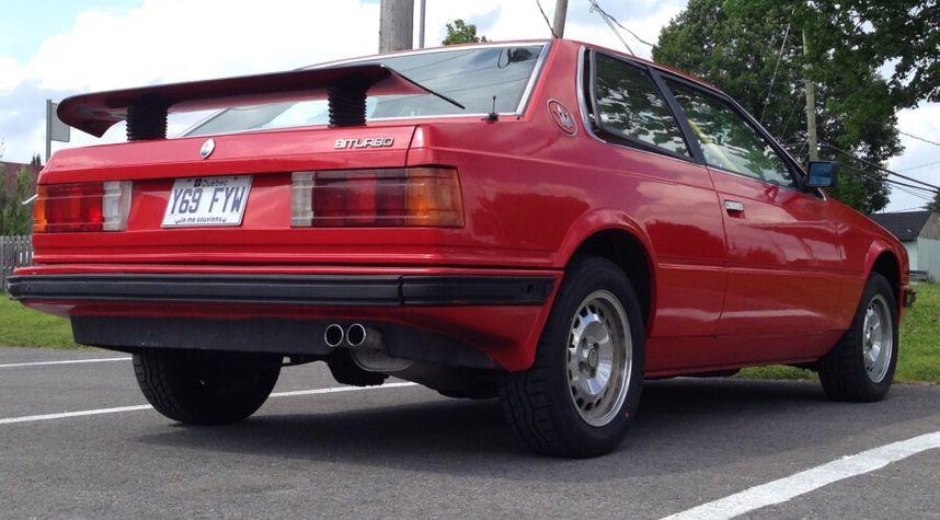 Main photo of Jessy De Medeiros's 1984 Maserati Biturbo