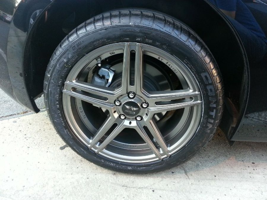 Continental Extremecontact Dw >> Continental Extremecontact Dw Tire 245 40zr17 Installed
