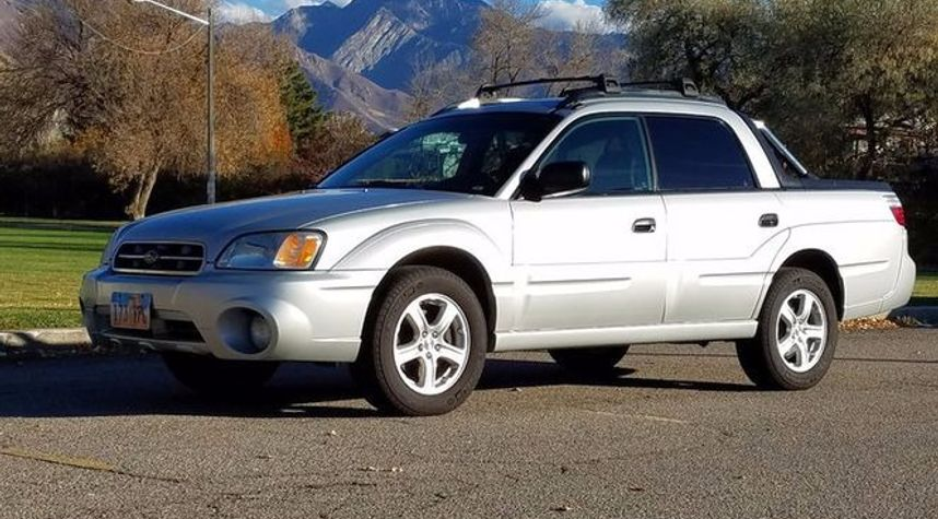 Main photo of James Henderson's 2005 Subaru Baja