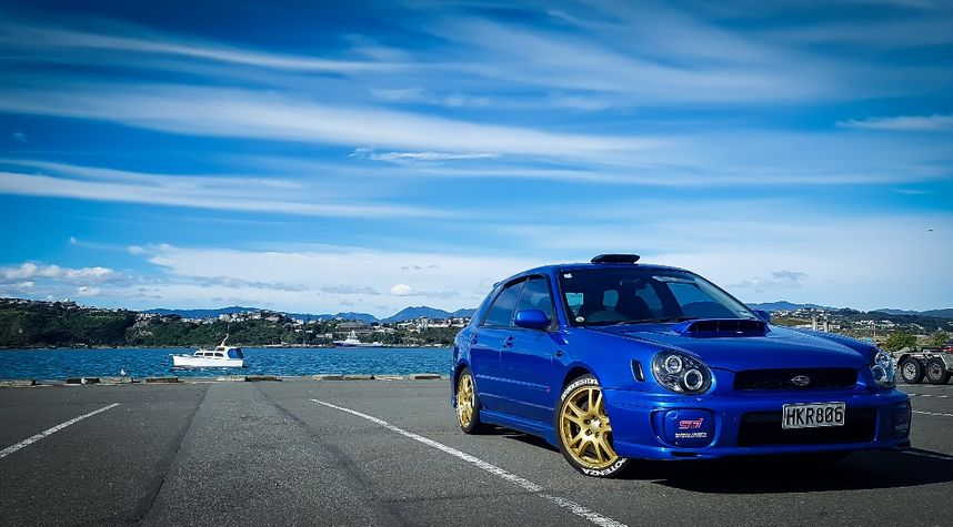 Main photo of Dazz Blue's 2001 Subaru Impreza WRX