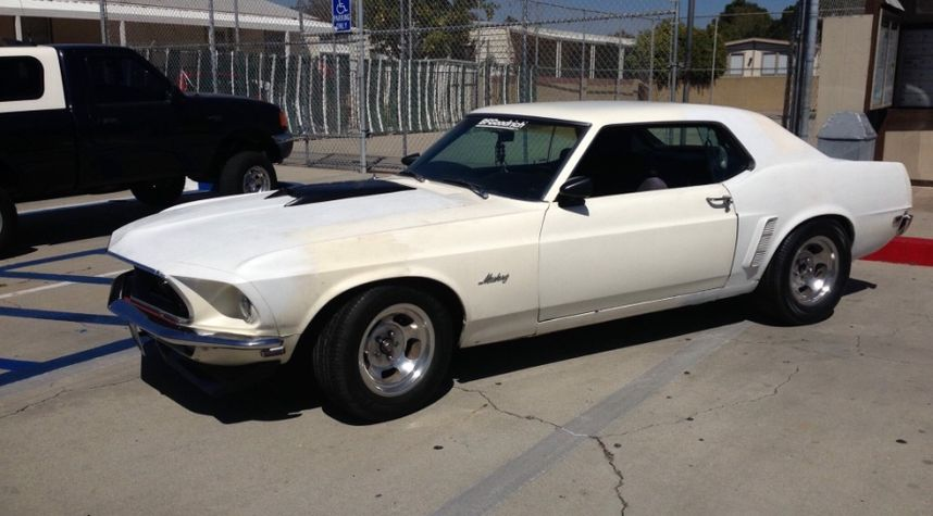 Main photo of James Cook's 1969 Ford Mustang