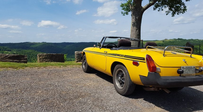 Main photo of Roman Black's 1978 MG MGB