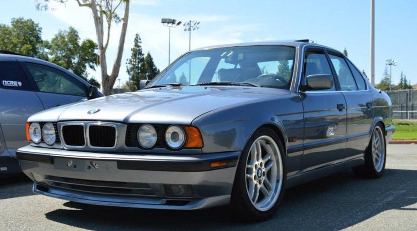 Main photo of Ben Kimsey's 1994 BMW 5 Series
