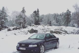 homepage tile photo for Snow and bad road condition is pure fun with a Turbo Quattro...