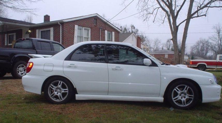 Main photo of Brandon Gage's 2003 Subaru Impreza