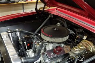 homepage tile photo for Finished engine bay