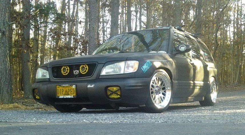 Main photo of Sasha Gurian's 2002 Subaru Forester
