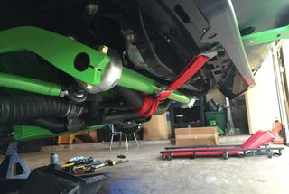 homepage tile photo for  Added lower a arms and anti-swaybar from Magnumforce Racing...