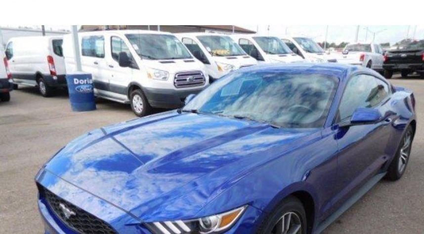 Main photo of Garrett Daniel's 2016 Ford Mustang
