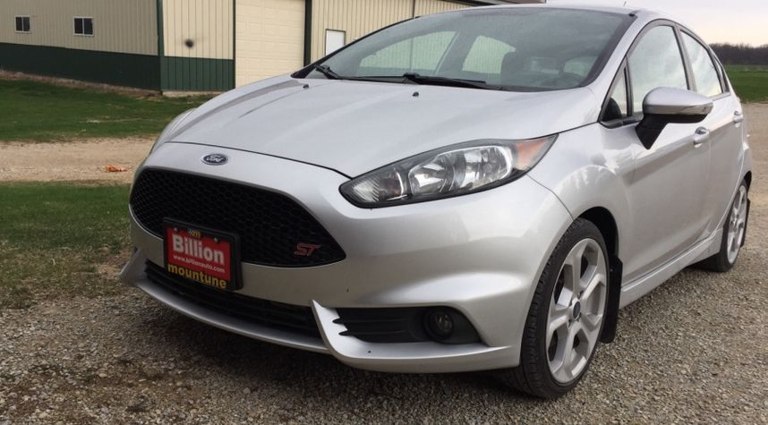 Main photo of Stephen Bender's 2014 Ford Fiesta