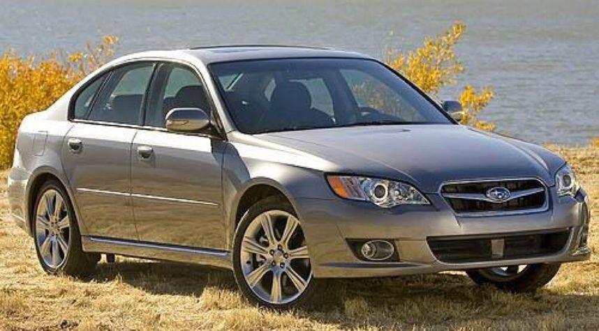 Main photo of Ben Samson's 2008 Subaru Legacy