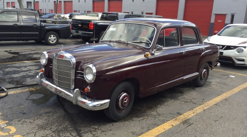 Main photo of Scott Chester's 1960 Mercedes-Benz 190