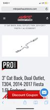 Thumbnail of Cat back exhaust