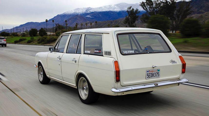 Main photo of Mike Fonfara's 1969 Ford Cortina Mk2