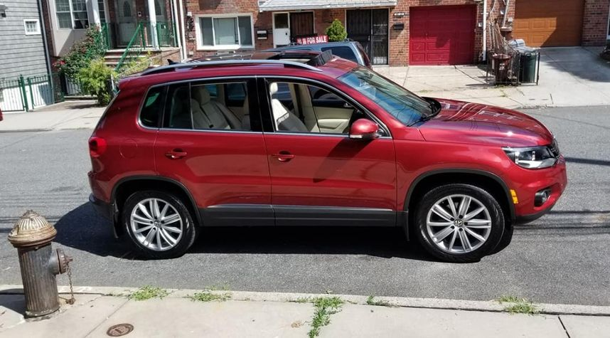 Main photo of Keith A Ritchie's 2015 Volkswagen Tiguan