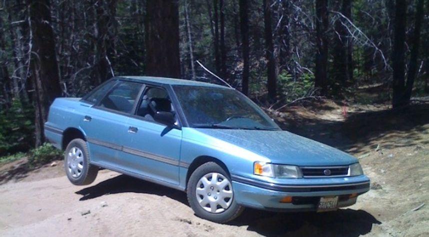 Main photo of Brian Holmes's 1991 Subaru Legacy
