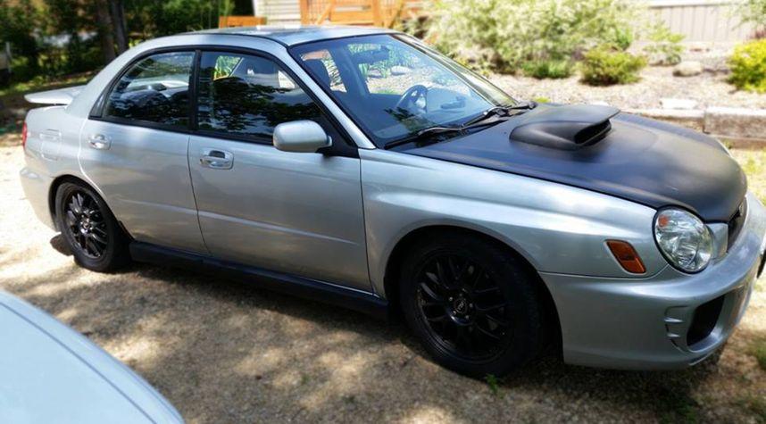 Main photo of Jan Sweeney's 2002 Subaru Impreza WRX
