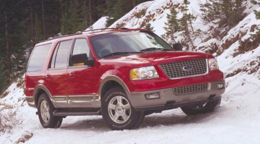 Main photo of Alex Henkhaus's 2003 Ford Expedition