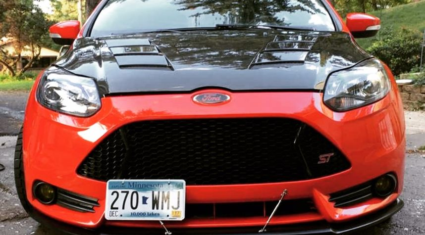 Main photo of Nate Schwartz 's 2014 Ford Focus ST