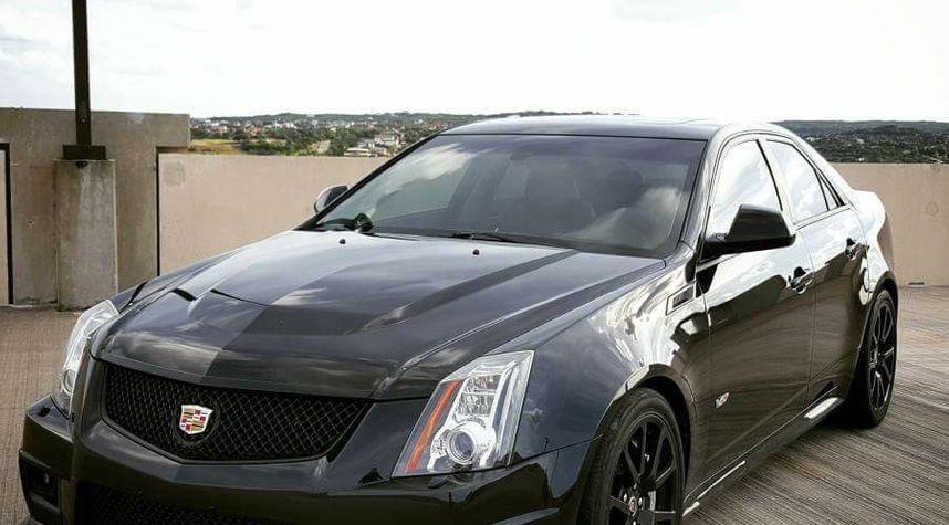 Main photo of Scott Henderson's 2012 Cadillac CTS-V