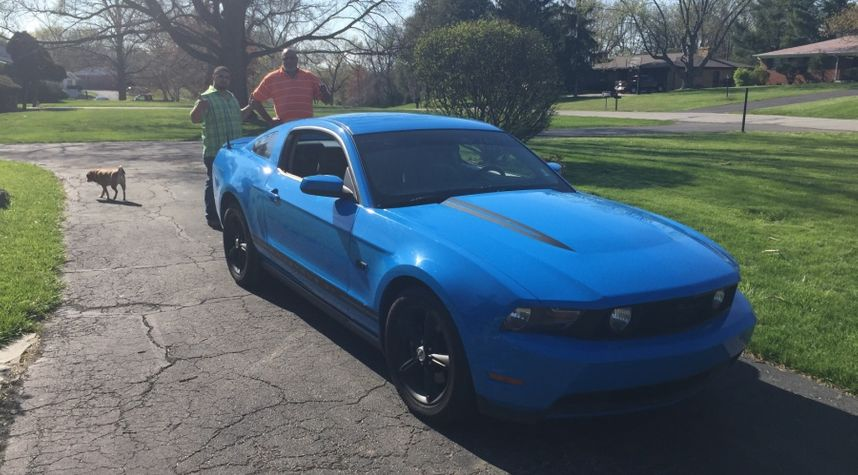 Main photo of Terrance McWilliams's 2010 Ford Mustang