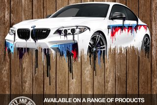 homepage tile photo for BMW M3 Liquid Metal ... Printed on Anything