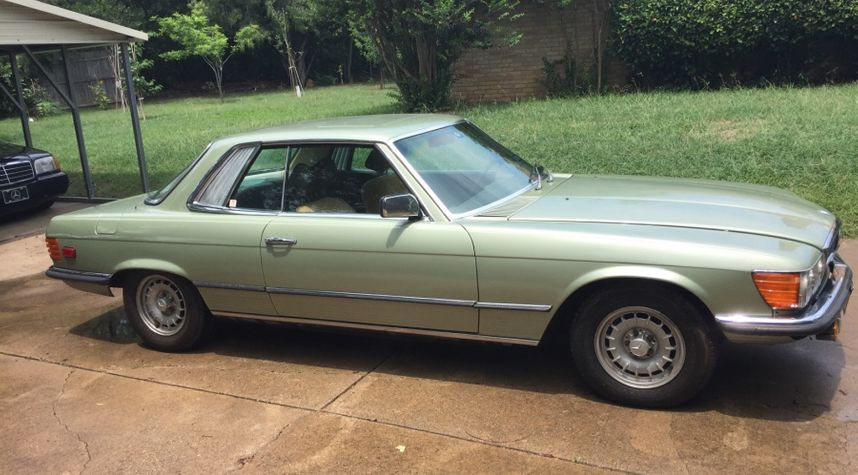 Main photo of Byron Strickland's 1977 Mercedes-Benz 450SLC